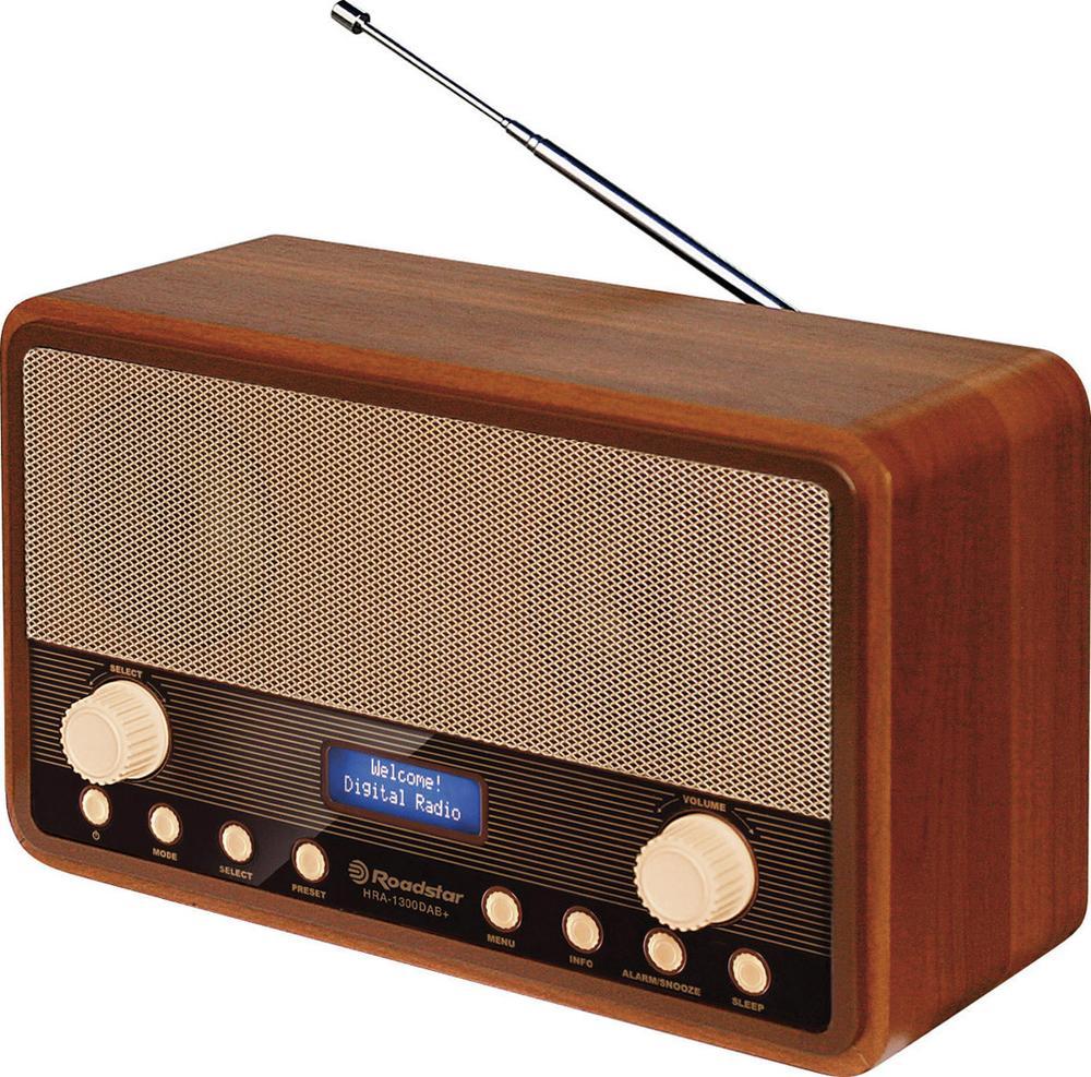 DAB+ retro rádio Roadstar HRA-1300DAB+, dřevo 1277675