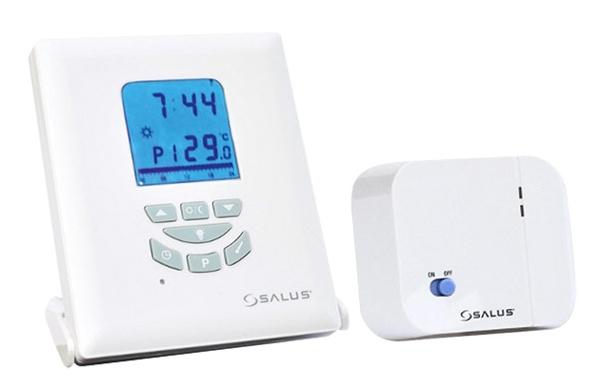 Bezdrátový programovatelný pokojový prostorový termostat Euro Thermo T105RF
