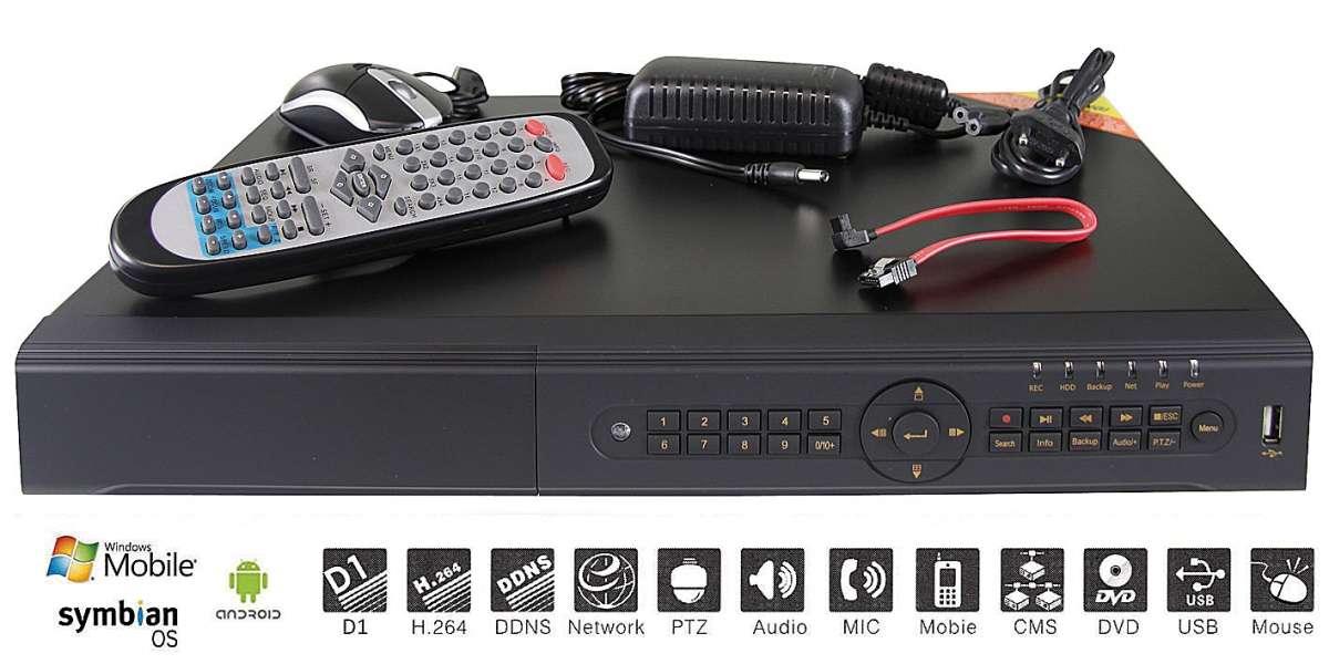 4 kanálové záznamové zařízení - rekordér