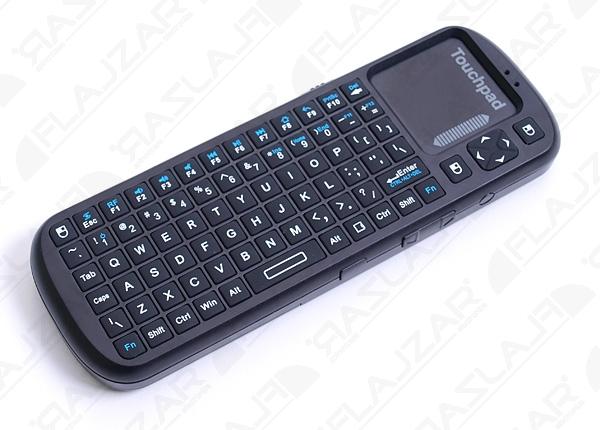 Bezdrátová mini klávesnice do USB 2,4Ghz Flajzar