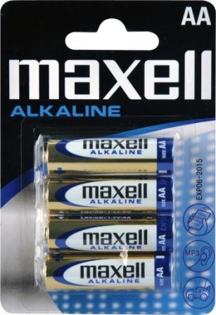 Maxell LR6 4BP ALK 4x AA (R6) tužkové *IHNED SKLADEM *