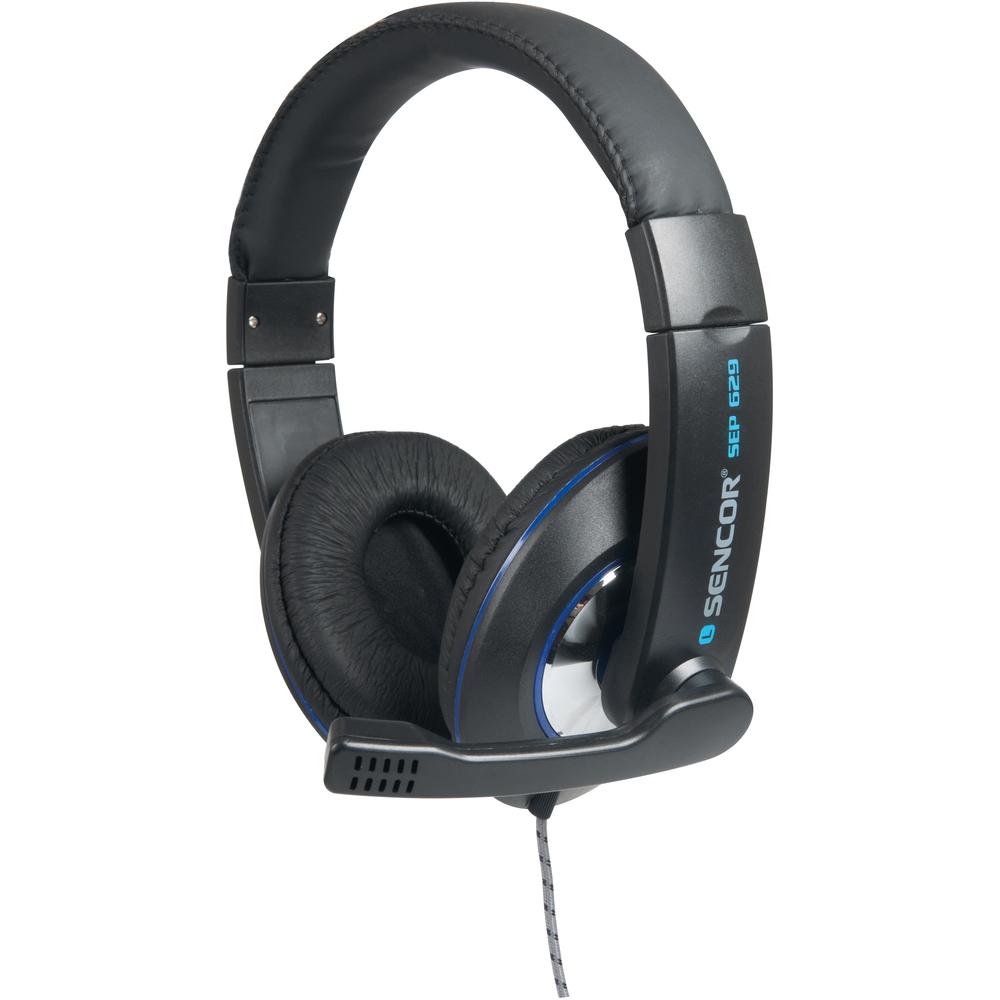 Sencor SEP 629 sluchátka + mikrofon