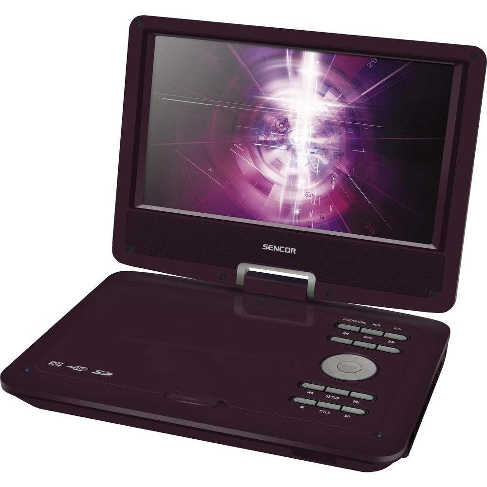 Sencor SPV 2919 RED přenosné DVD