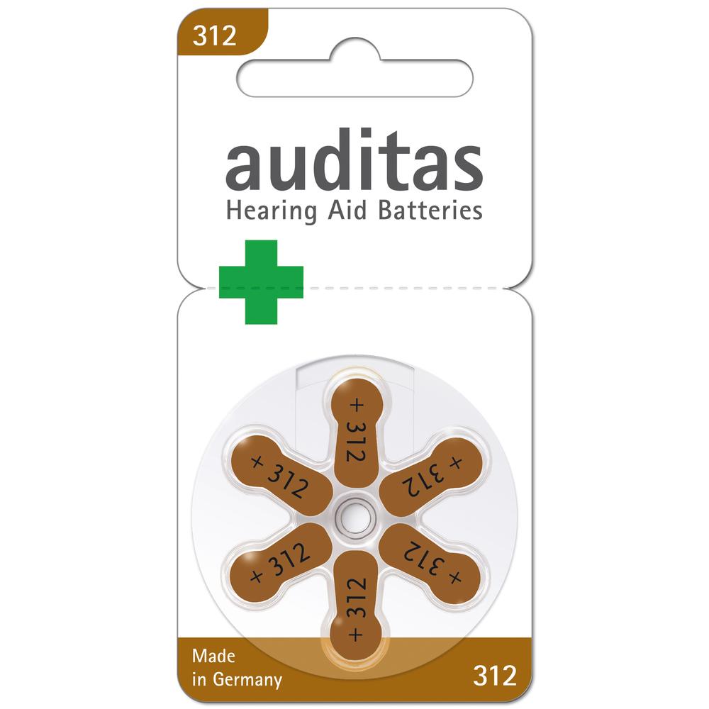 Baterie do naslouchátek Varta AUDIOPRO 312 6BL PR41 - 6ks