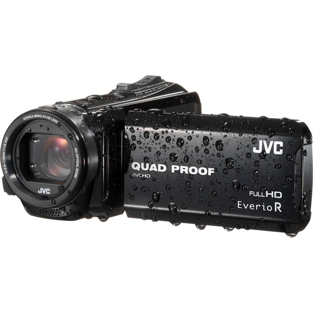 JVC GZ R415B FULL HD VODOTĚSNÁ KAMERA