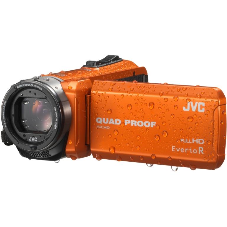 JVC GZ R415D FULL HD VODOTĚSNÁ KAMERA