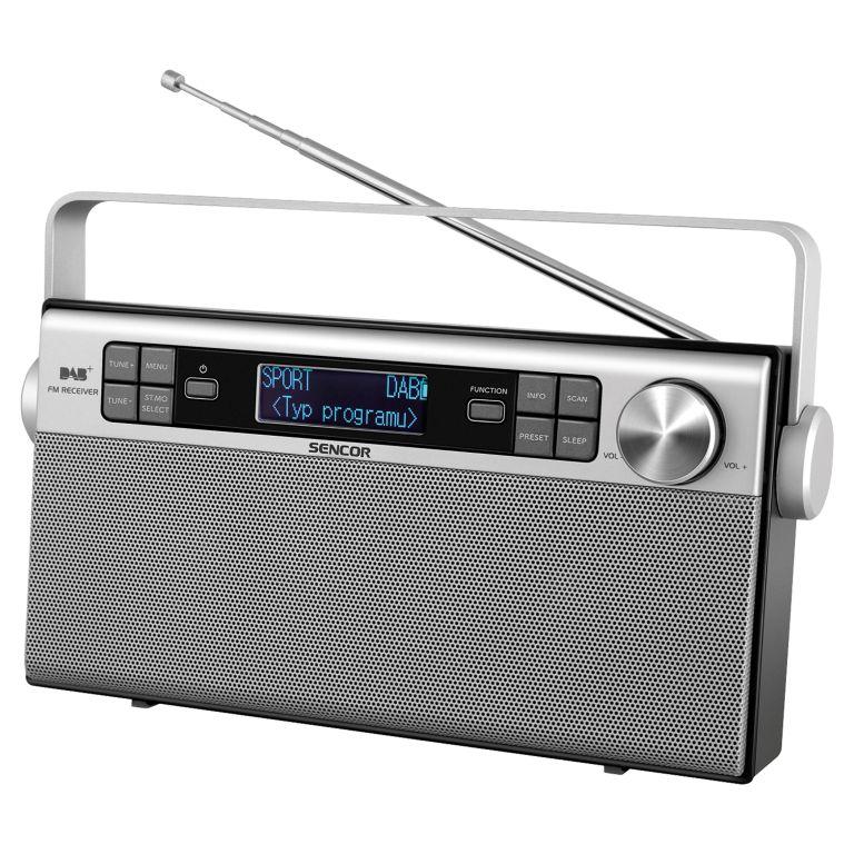 Sencor SRD 6600 Digitální rádio DAB+