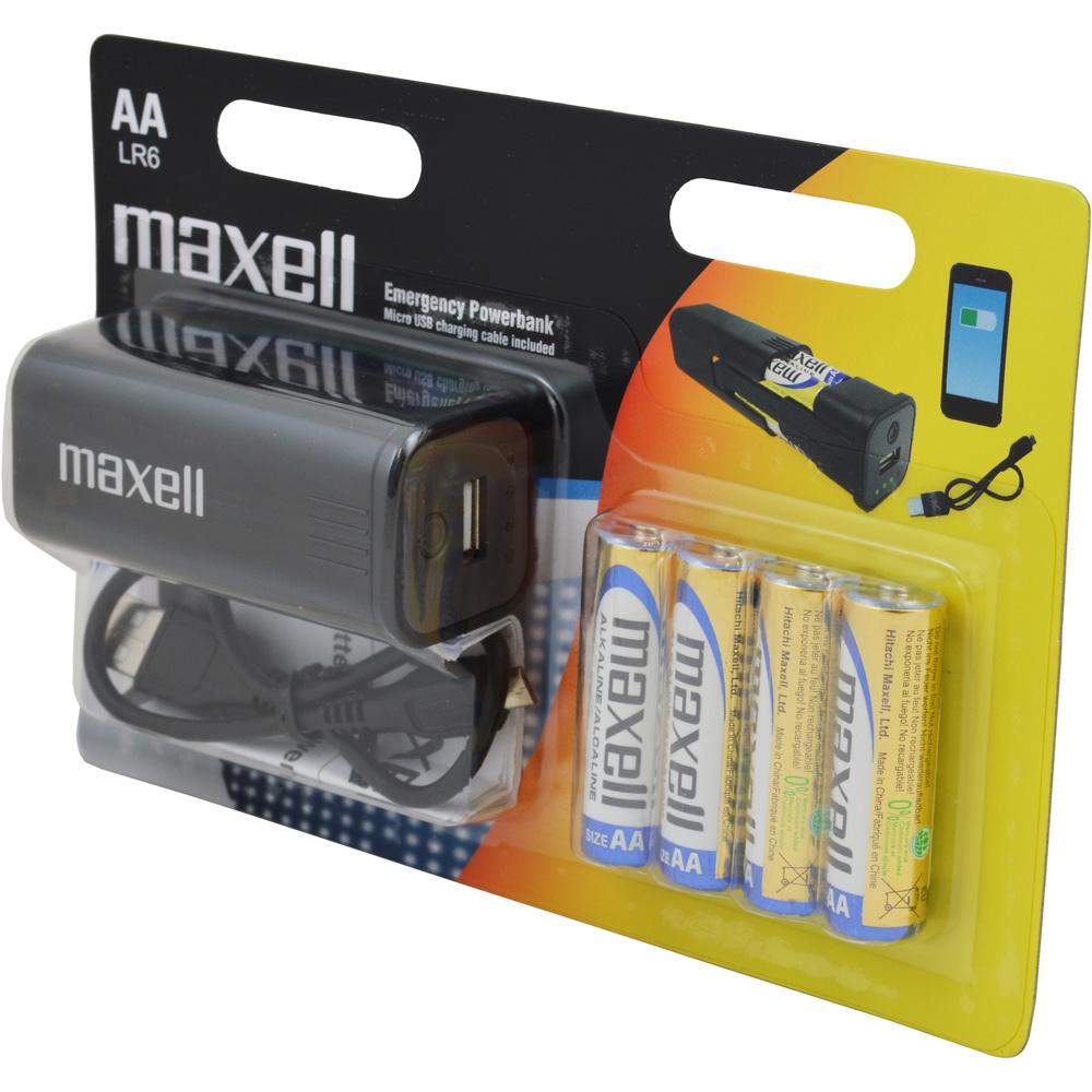 Maxell Emergency powerbank 4BP AA Alkalické