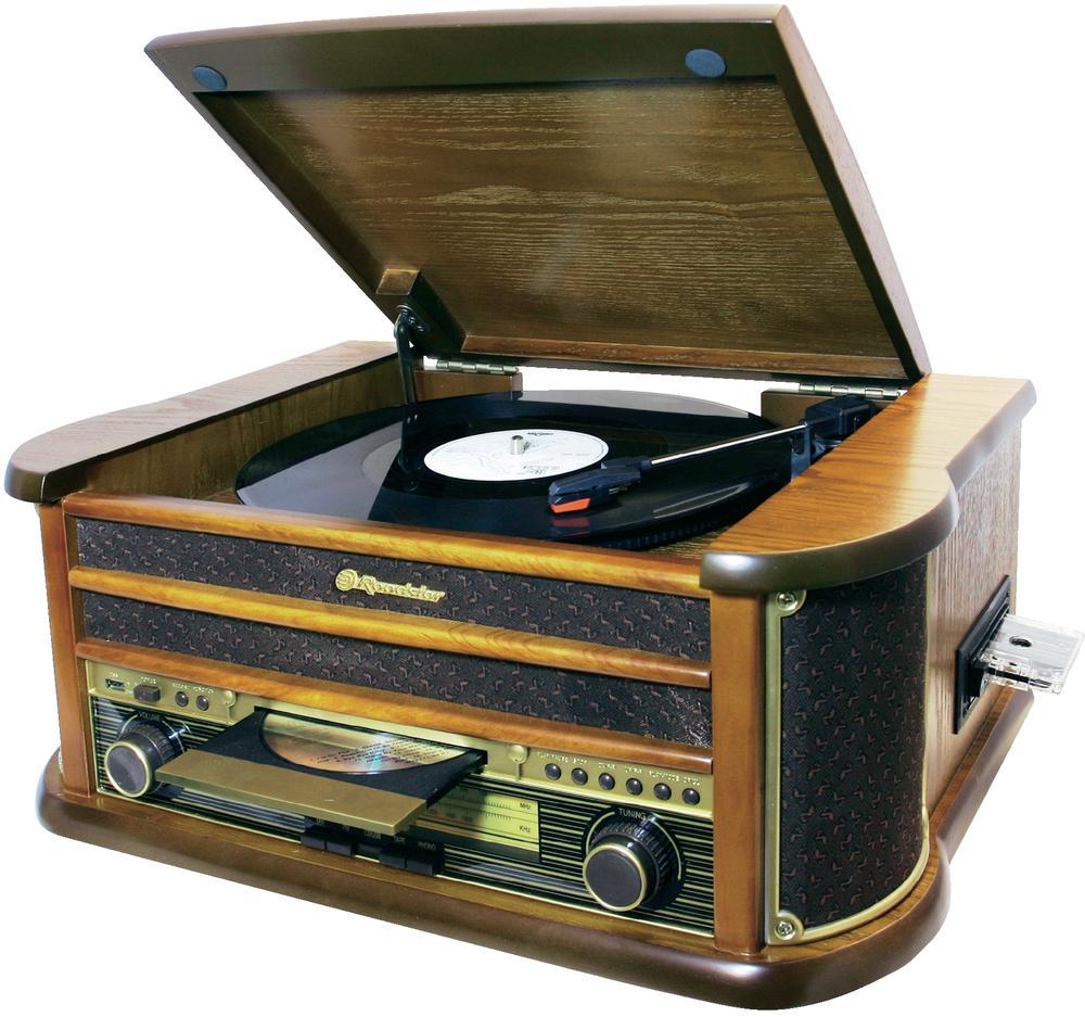 Retro rádio přehrávač s funkcí digitalizace Roadstar HIF-1923TUMPK 491774