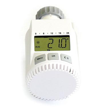 Programovatelná termostatická hlavice FK3030C