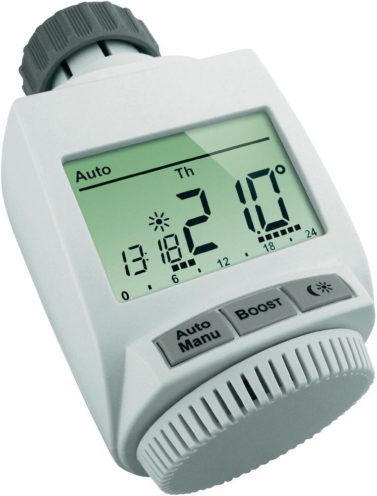 Bezdrátová programovatelná termostatická hlavice eQ-3 MAX!+ 519588