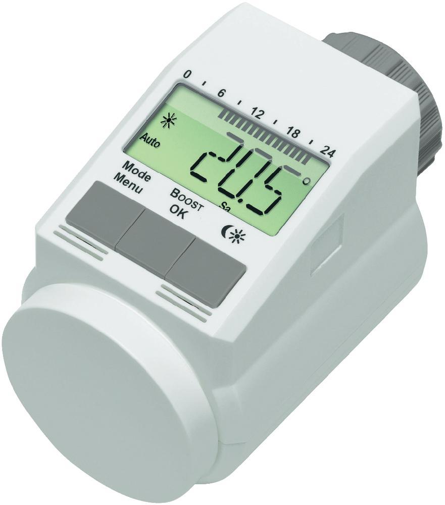 Programovatelná termostatická hlavice eQ-3 L, 5 - 29,5 °C 559559