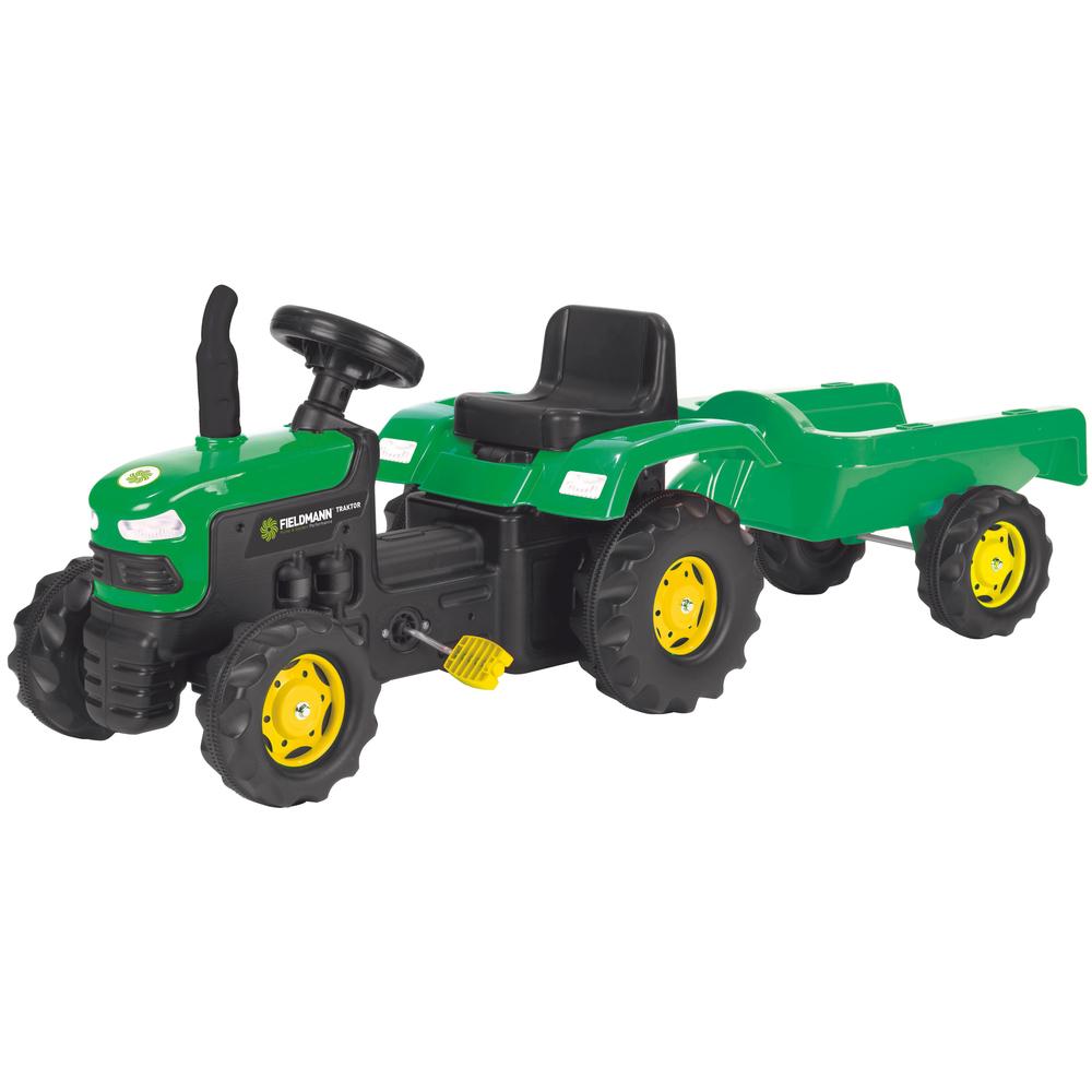 BUDDY BPT 1012 Šlapací traktor s vozíkem