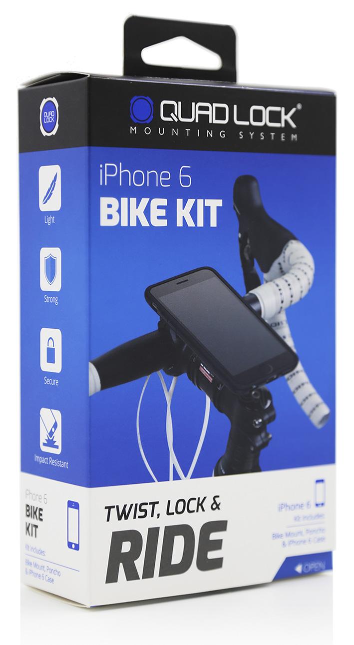 Držák na kolo Quad Lock Bike Mount Kit - iPhone 6