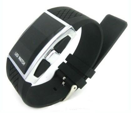 Luxusní silikonové LED hodinky digitální TH032002