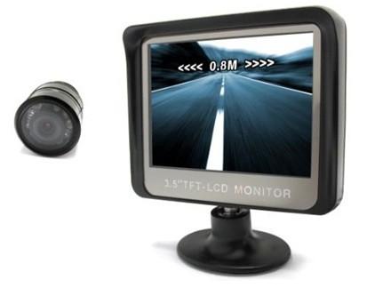 Vodotěsná couvací kamera s LCD displejem 3,5
