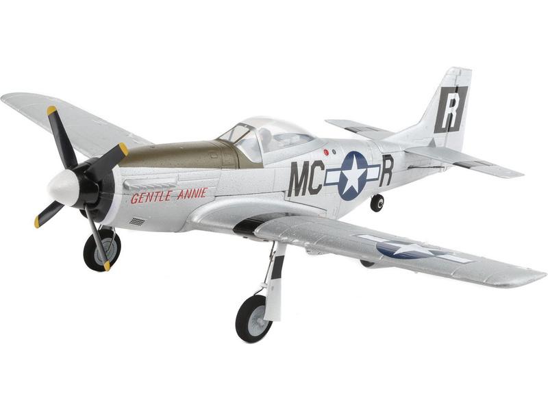 E Flite UMX P-51 Mustang BL BNF Basic