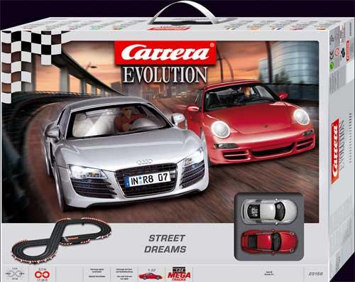 Street Dreams , autodráha Carrera Evolution