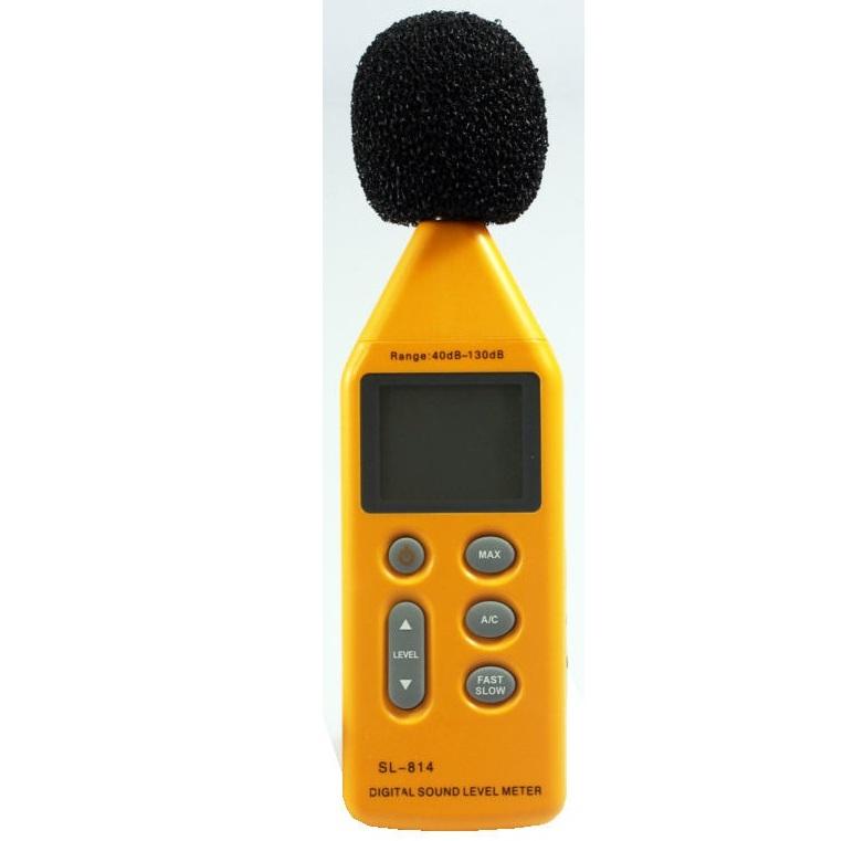 Digitální hlukoměr HS-814 měřič hluku 40-130dB