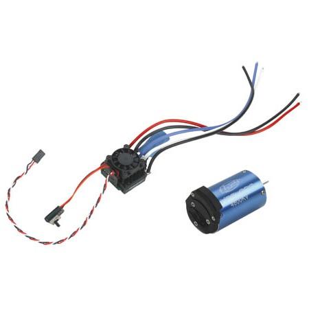 Motor střídavý Xcelorin 1:10 4800ot/V + regulátor
