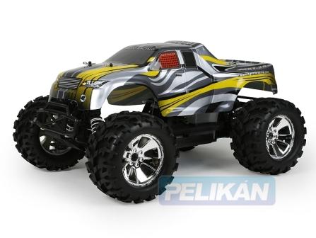 HIMOTO MEGAP Monster Truck 3,5ccm 2,4GHz LCD 2 rychl. přev.,allu výfuk