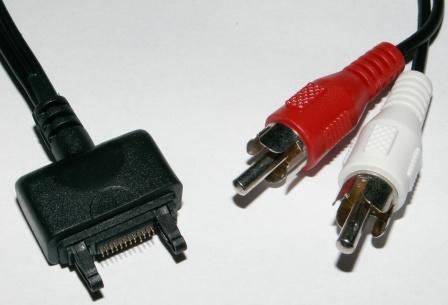 Adaptér SE K750i pro připojení k audio vstupu HiFi soustavy