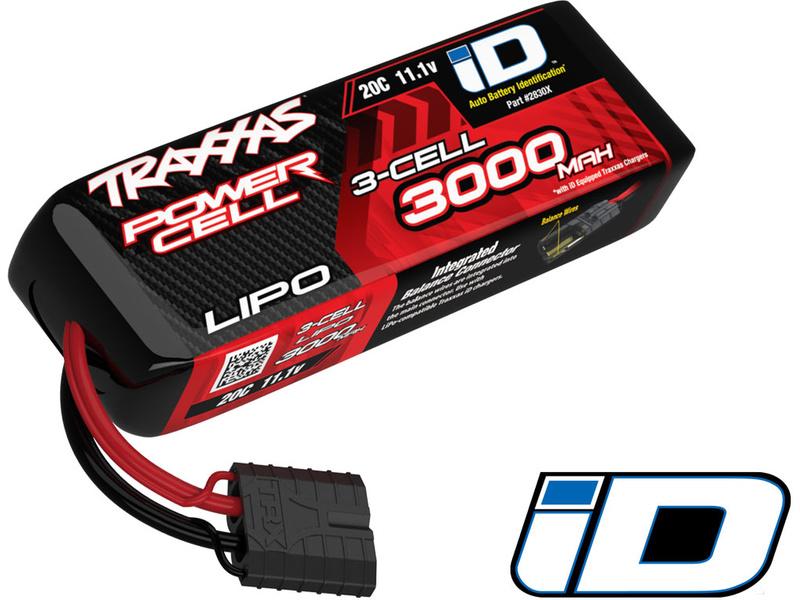 Traxxas LiPo baterie 11.1V 3000mAh 20C iD
