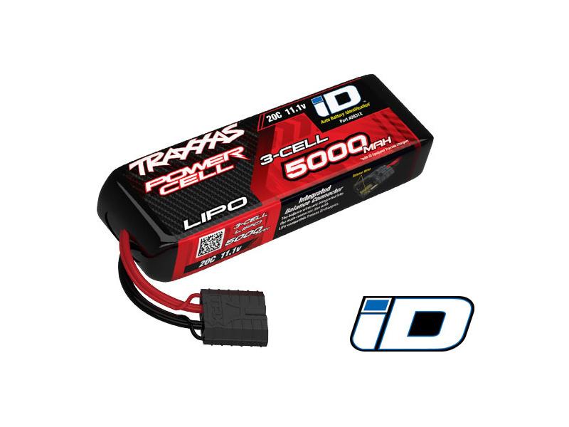 Traxxas LiPo baterie 11.1V 5000mAh 20C iD