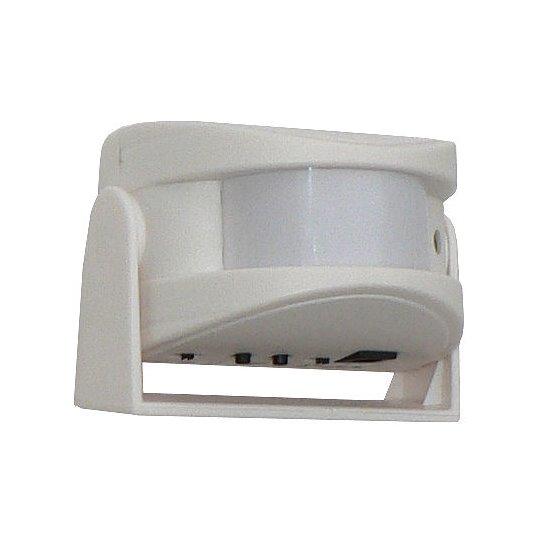Přenosný PIR dveřní mini alarm a signalizační gong s čidlem pohybu - hlásič návštěv HT42N