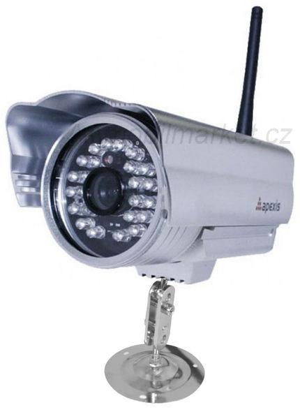 IP kamera bezdrátová venkovní Apexis APM-JP6235-WS-P2P, 640x480, M-JPEG, WiFi