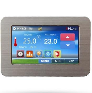 Wifi termostat s barevným dotykovým displejem Flame Wifi FT-2