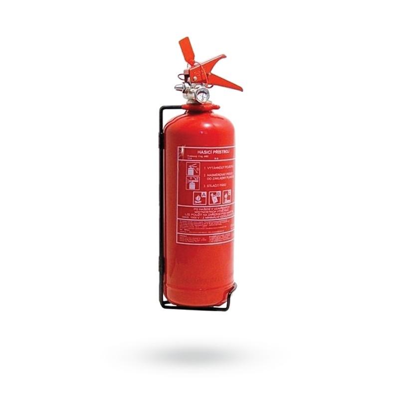 Hasící přístroj práškový, 2 kg, ABC