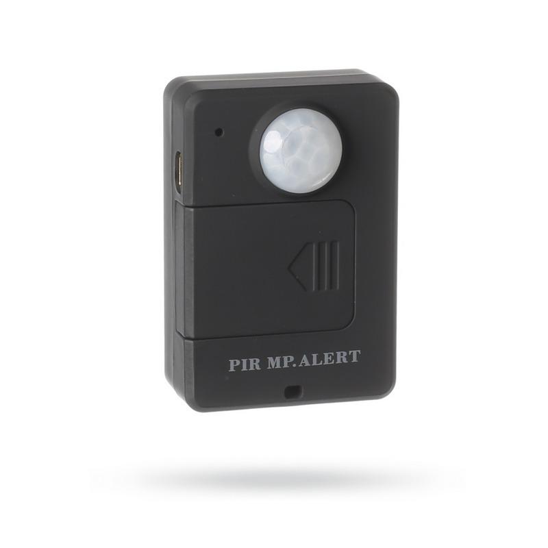 GSM pohybový detektor a odposlouchávač Motion-Ear - Černá