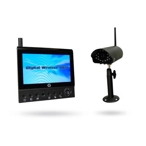 Bezdrátová kamera se záznamem na SD a monitorem SmartEye2