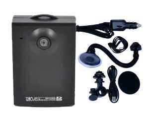 Barevná sportovní palubní operativní HD kamera černá skříňka on board 1280x1024 se záznamem - HDVR5920HR