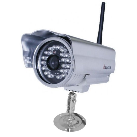 IP kamera bezdrátová venkovní 1Mpix Apexis APM-AH6234-WS, 1280x720, H.264, WiFi, P2P, megapixel
