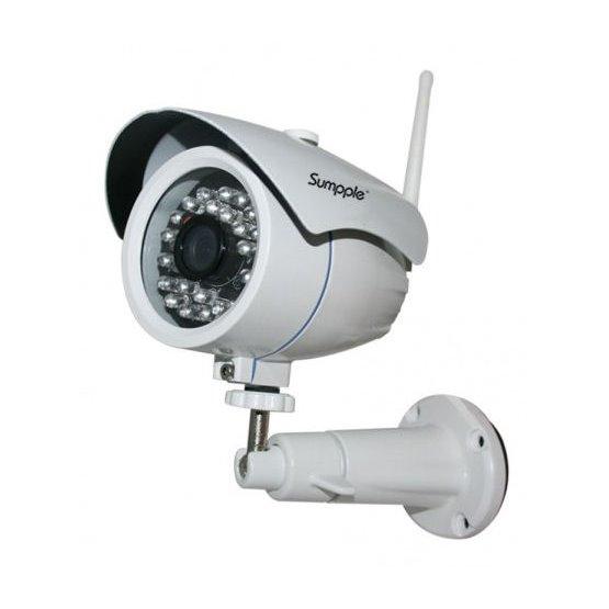 IP kamera bezdrátová venkovní 1Mpix Sumpple S631, 1280x720, H.264, WiFi, P2P, megapixel