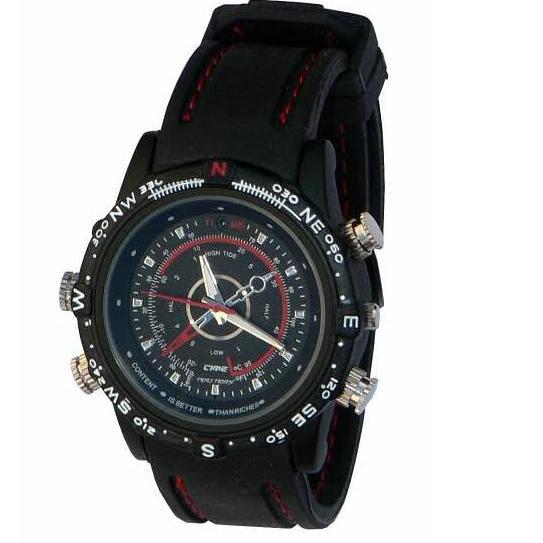 Skrytá kamera v hodinkách, hodinky s kamerou 4GB paměti rozlišení 8Mpix, SPY-CAM 5670