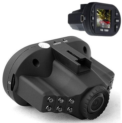 Kamera do auta FULL HD černá skříňka HDVR5937 COMPACT CZ (ČESKÉ MENU !) onboard palubní ( FH01 / C600 / DCAM-004 )