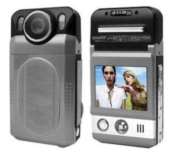 Palubní kamera do auta FULL HD 1080p operativní on board černá skříňka 1920x1080 F-5000 se záznamem a LCD displejem- HDVR5945L