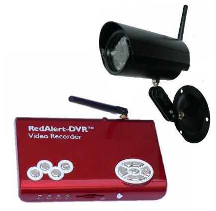 Bezdrátová venkovní kamera se záznamem -souprava rekordéru HWR-4200 a kamery - HWS4200