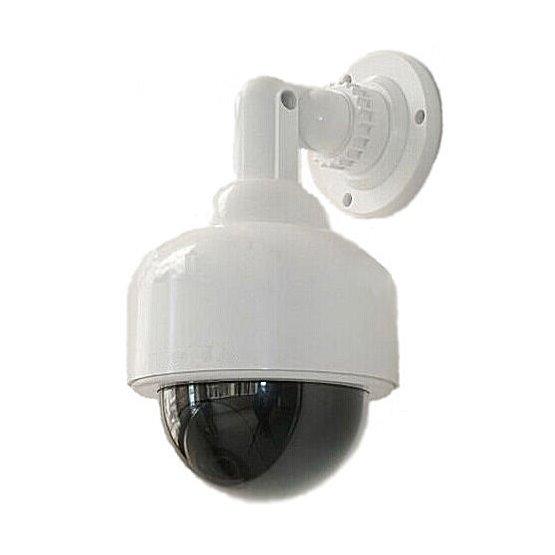 Kamera - atrapa venkovní DOME kamery maketa s blikající LED DM03