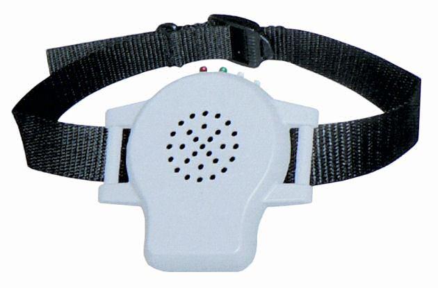 Ultrazvukový elektronický výcvikový obojek proti štěkání se záznamem Vašeho hlasu DOG-B02 protištěkací ** IHNED SKLADEM**