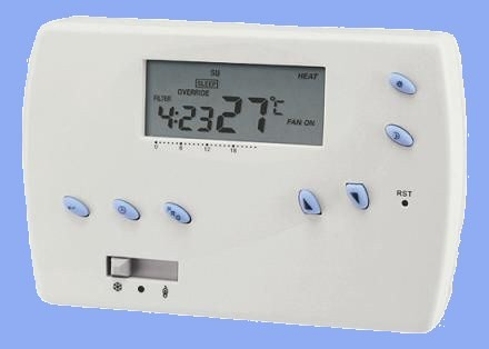 Hutermann Euro Thermo 091-N/ F programovatelný termostat týdenní pokojový prostorový