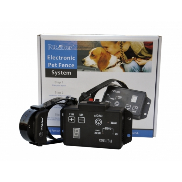 Petrainer 803 elektronický ohradník pro psa neviditelný plot pro psy PET803