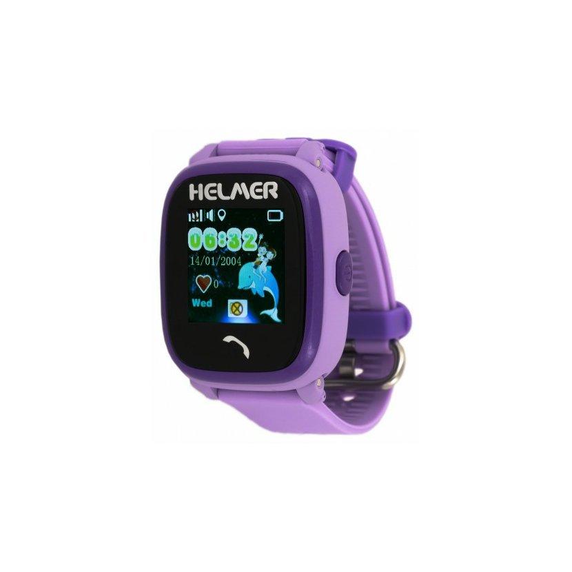 1c5f93840 Helmer LK704 - Dětské hodinky s GPS lokátorem, dotykový displej ...