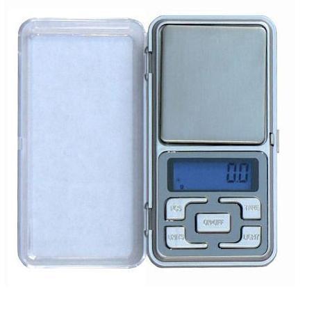 Kapesní digitální váha 500g x 0,1g stříbrná HS-500g *IHNED SKLADEM *