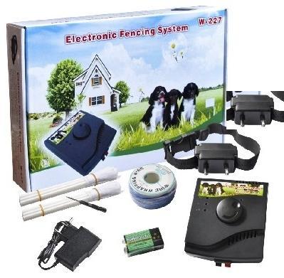 Elektronický ohradník iTrainer W227 pro 2 psy
