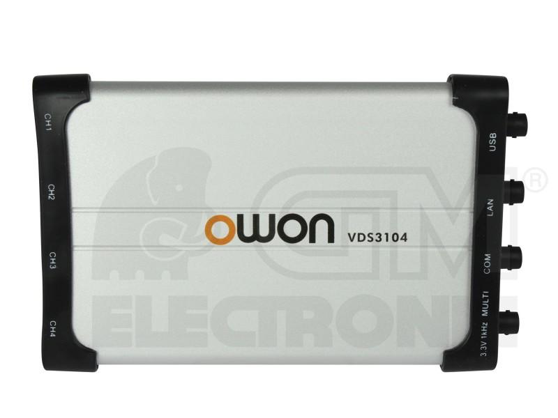 USB osciloskop OWON VDS3104