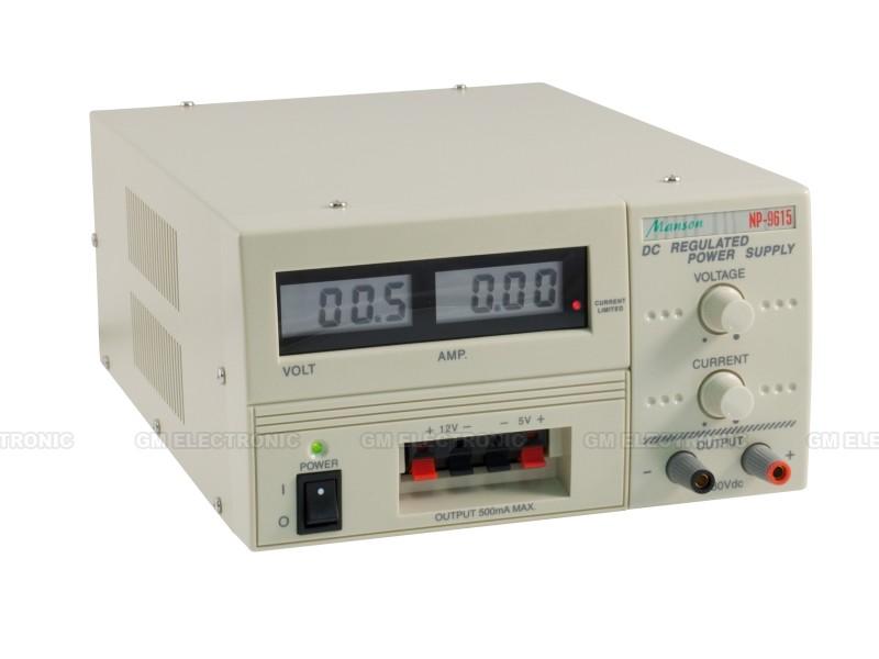 Laboratorní zdroj MANSON NP-9615